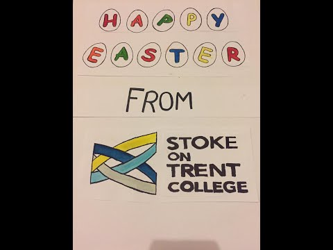 Happy Easter from Stoke on Trent College
