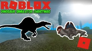 Roblox Dinosaur Simulator Natal-filme acabado SPINO modelo! + ALGUMAS ANIMAÇÕES!