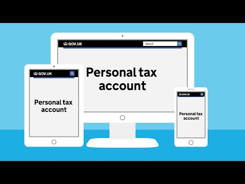 Personal tax accounts - HMRC's online service for individuals
