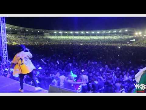Rayvanny-Live performance at Dar es salaam Taifa Stadium)