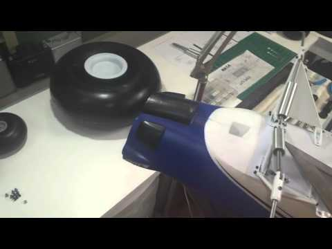 PR Bushwheels Carbon Z Cub Landing Gear Part 2 of 2