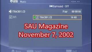 SAU Magazine (November 7, 2002)