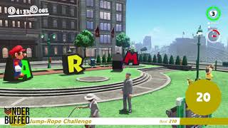 [Super Mario Odyssey] Moon 30 - Jump-Rope Genius Glitch Guide