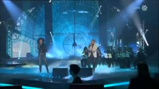 Kim Sanders und Marlon Roudette singen Anti Hero bei The Voice Of Germany Finale