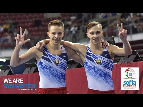 2017 Trampoline Worlds, Sofia (BUL) - Highlights Synchronised TRA finals - We are Gymnastics !