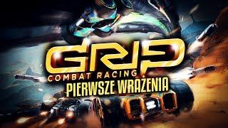 PIERWSZE WRAŻENIA + KONKURS! - GRIP: Combat Racing