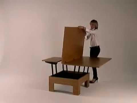 Stolik Kawowy Rozkładany Dopiotable 160x80 Cm Simplemeblepl