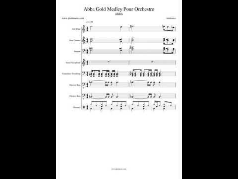 Abba - Abba Gold Medley Pour Orchestre