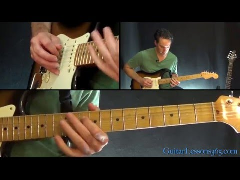 Lenny Guitar Lesson (Part 2) - Stevie Ray Vaughan