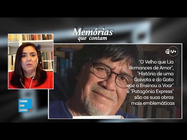 «Memórias que contam»: Luís Sepúlveda, o «contador de história» que queria escrever sobre a vida