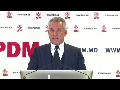 Conferință de presă Partidul Democrat din Moldova