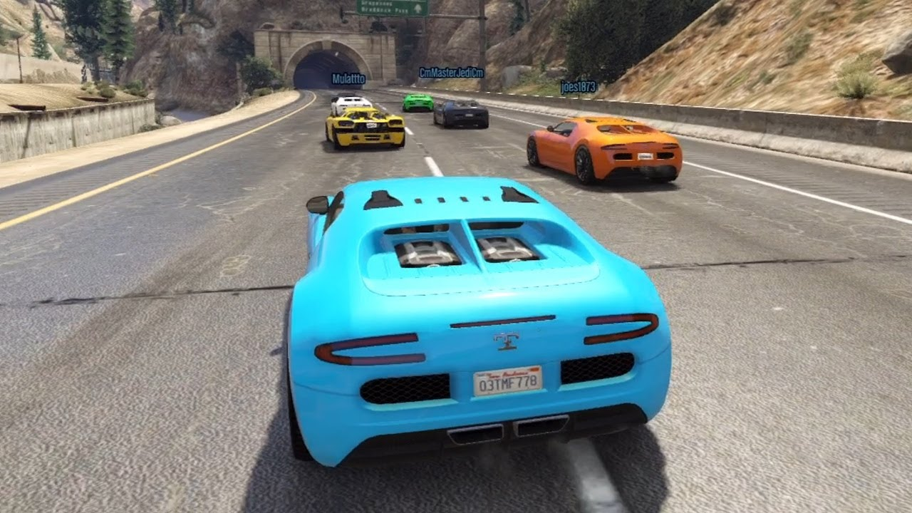 gta 5 online online race with the bugatti veyron 1st place youtube. Black Bedroom Furniture Sets. Home Design Ideas
