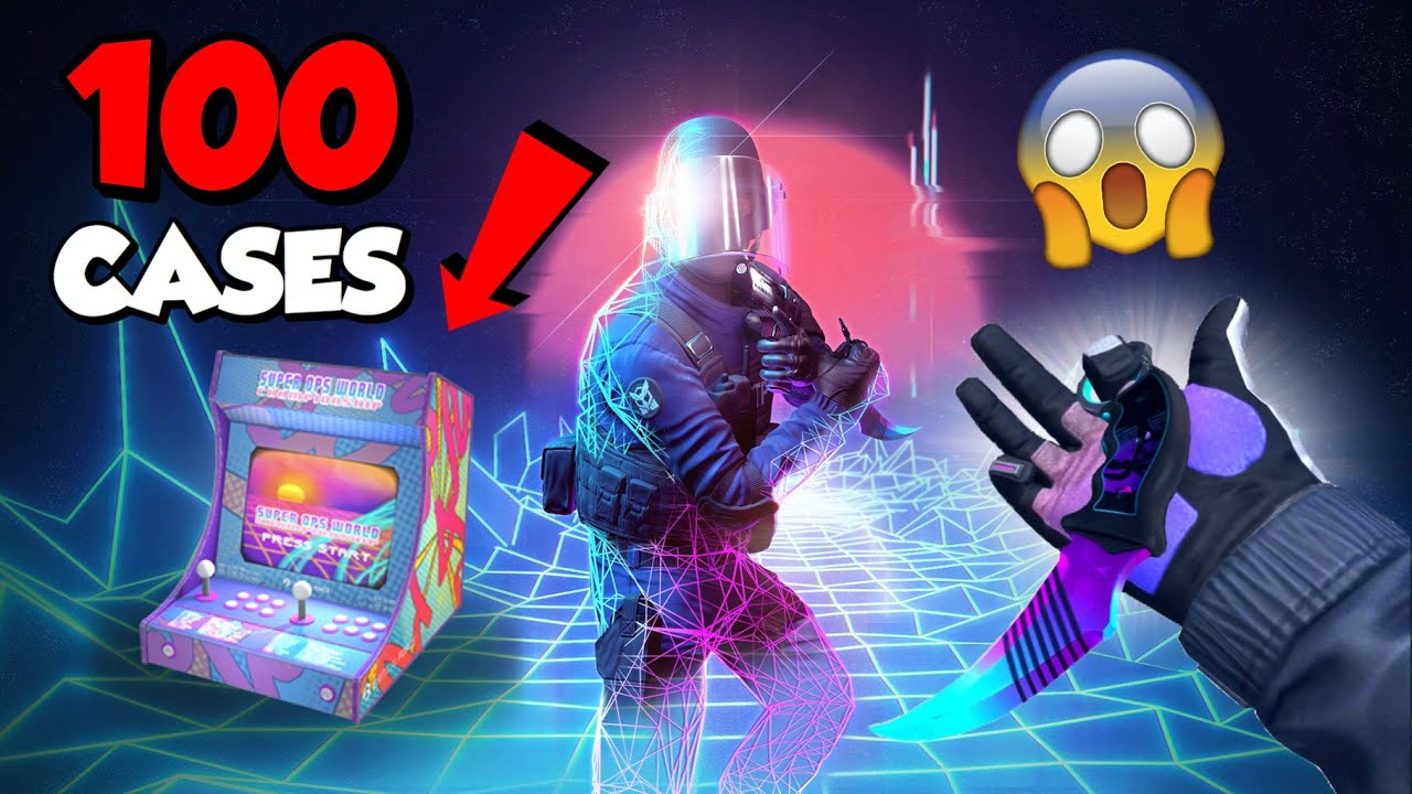 Opening 100 Summer 90 Cases - NEW GLOVES + KNIFE!! - Critical Ops 1.17.0
