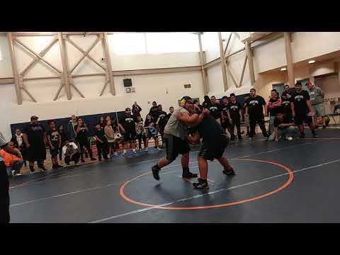 Final match: Alondra middle school VS. Paramount Park middle school [Wreslting]