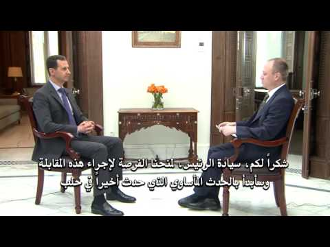 President Assad Latest Interview 4/21/2017