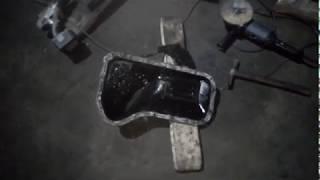 Полный пипец. Снимаем поддон и масляный насос. ДВС ВАЗ 2130 (НИВА 2131)