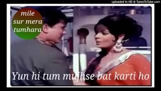 This is a karaoke song for female singer name of film-sachcha-jhoota male singer-manoj kumar khare singer- blank mkkhare36@gmail.com s...