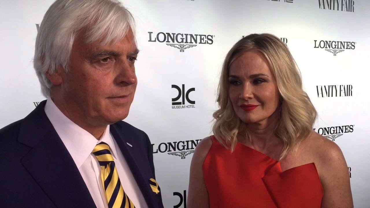 Bob Baffert and wife on keeping chill before Derby - YouTube