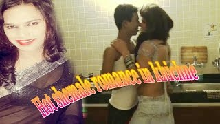 vuclip Hot shemale Romance in kitchen
