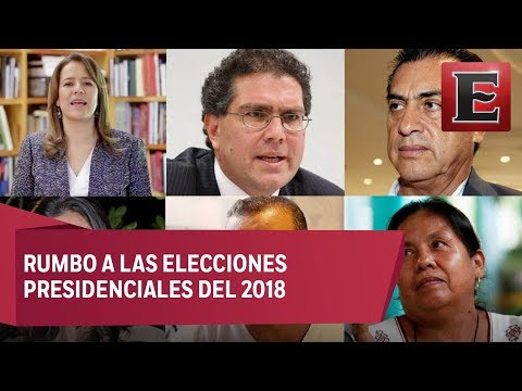 32 aspirantes a la candidatura independiente a la presidencia de México