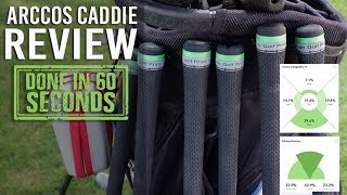 ARCCOS CADDIE 2.0 REVIEW - DONE IN 60 SECONDS