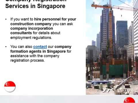Start a Construction Company in Singapore