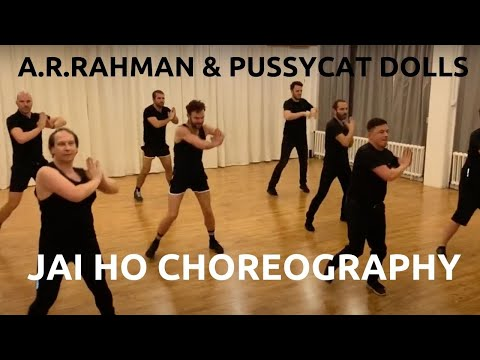 Jai Ho - A.R. Rahman U0026 The Pussycat Dolls | Dance Tutorial Choreography