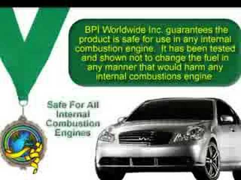 BPI Worldwide - save gas!