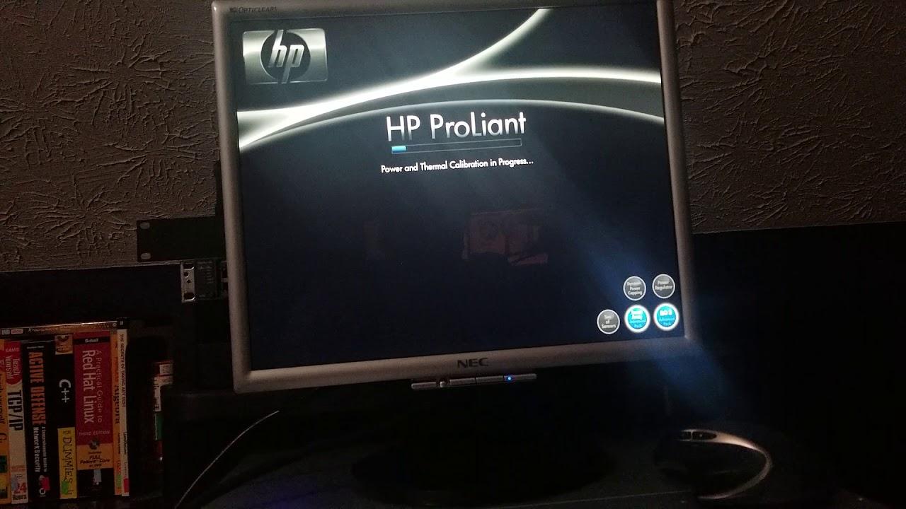 How to get to the raid menu  HP Proliant DL380 Gen7