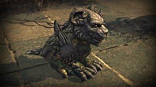 Path of Exile - Stone Gargoyle Pet