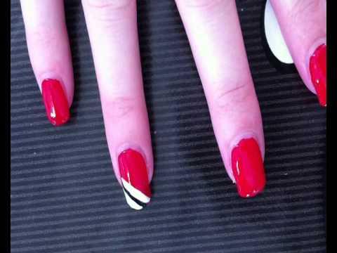 Simple and qucik nail art design - For beginners