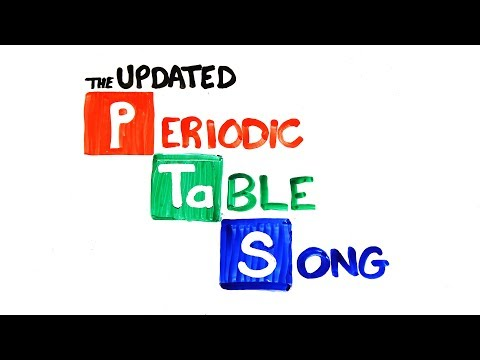 The Periodic Table Song (2018 Update!) | SCIENCE SONGS