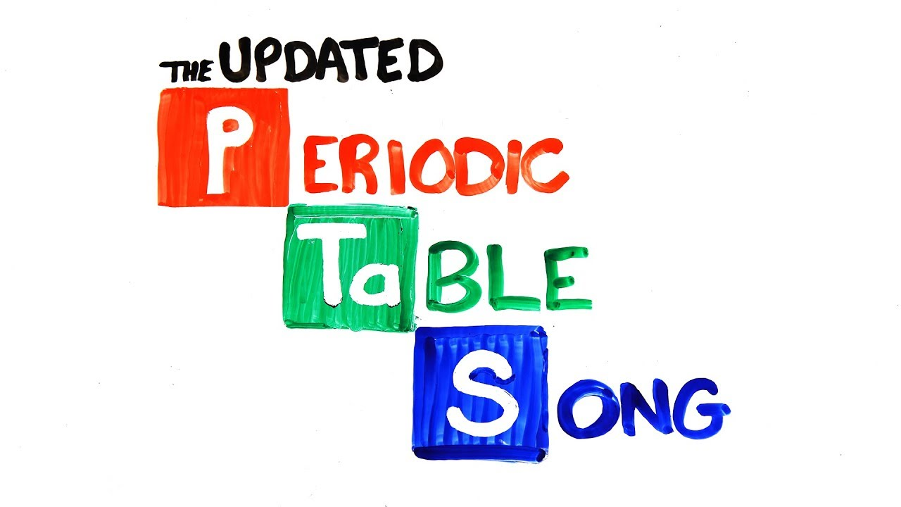 The periodic table song 2018 update youtube the periodic table song 2018 update urtaz
