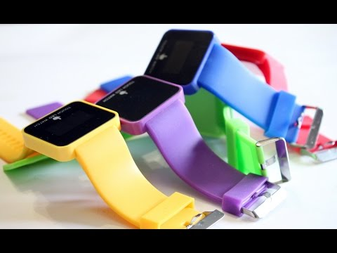 TOUCH LED WATCH - инновационные часы из Китая