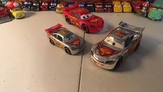 McQueen Monday: Silver Racers Lightning McQueen diecast review