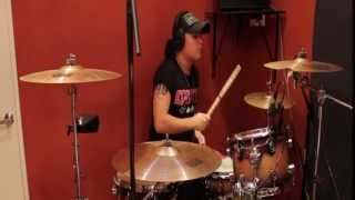SKID ROW - YOUTH GONE WILD DRUM COVER BY PIERO CRASH