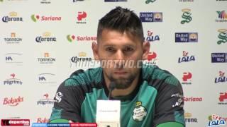 Jonathan Orozco - Santos Laguna, habla de Carlos Acevedo y la rivalidad ante Tigres UANL