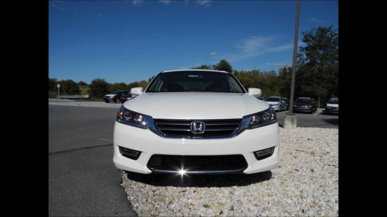2013 Honda Accord Sedan EX CVT White Orchid Pearl - YouTube