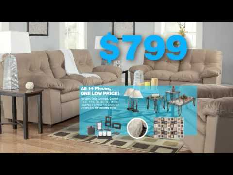 Superior 14 Piece Room Packages   Ashley Furniture HomeStore Commercial By TOMA  Advertising