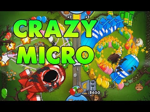 CRAZIEST MICRO EVER - Bloons TD Battles