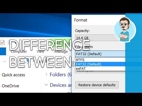 Difference Between FAT32, ExFAT And NTFS