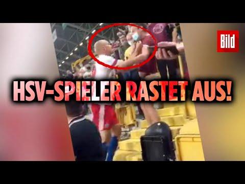 """""""Massive Beleidigung"""": HSV-Spieler Leistner attackiert Zuschauer"""