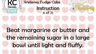 Wellesley Fudge Cake - Kitchen Cat