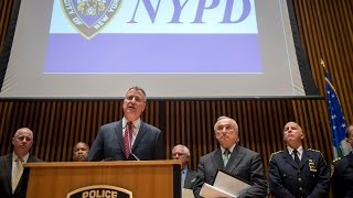 Mayor de Blasio and Commissioner Bratton Announce 2014 Saw Fewest Murders in NYC History