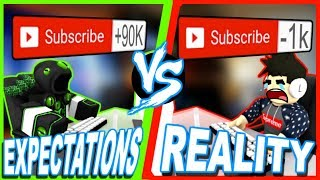 Expectations VS Reality (ROBLOX Version Youtube)