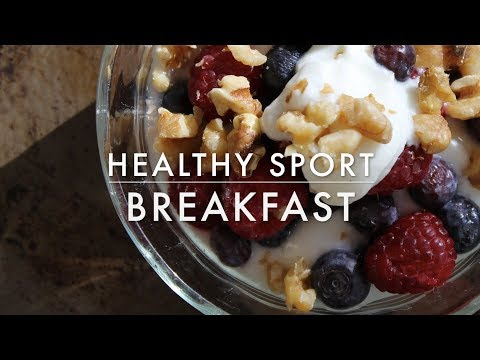 Healthy Sport Breakfast | EASY, HEALTHY, TASTY AND CHEAP