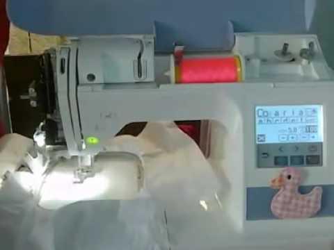 095ea72b760f7 Como ajustar e tenção da máquina de bordar PE 770 - YouTube