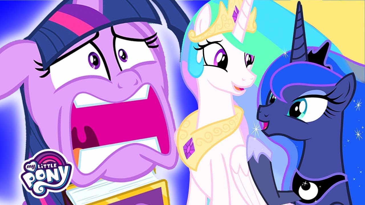 My Little Pony Princess Celestia Is Retiring The Beginning Of The End Mlp Fim Youtube