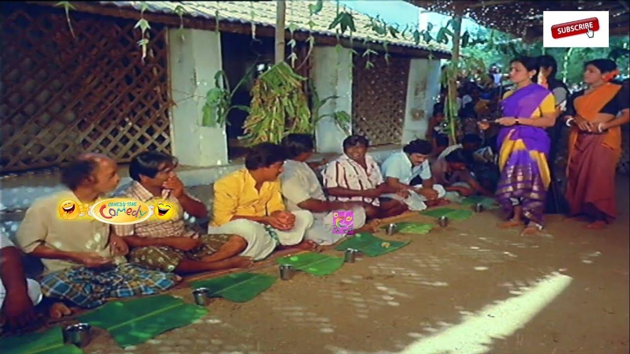 இங்க பாரு சாப்பாடு இருந்தா போடுமா இல்லனா சொல்லு சும்மா கத்தாதே || #SENTHIL #COMEDY