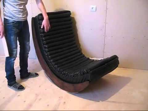 Cмотреть видео онлайн Кресло качалка  Как сделать самому  Часть 2
